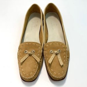 Cole Haan Evie Suede Leather Tan Size 9 B